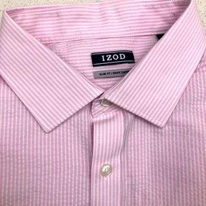 IZod Dress Shirt 17.5 34/35 Brand New W/Tags